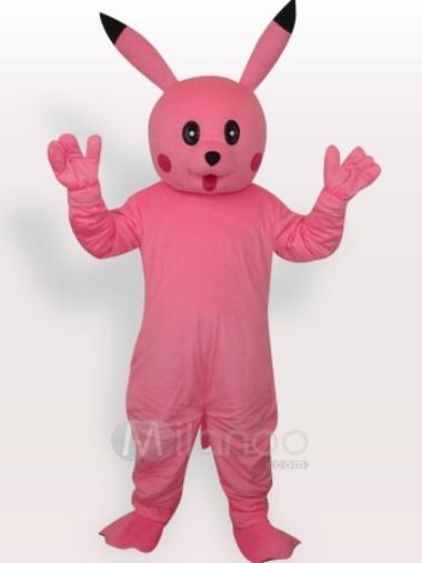 Pinkpikachushortplushadultmascotcos
